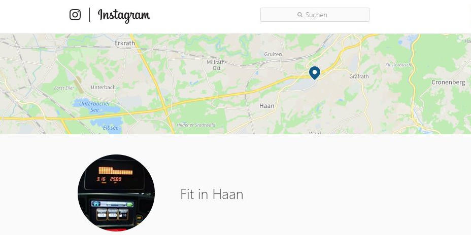 Fit in Haan auf Instagram
